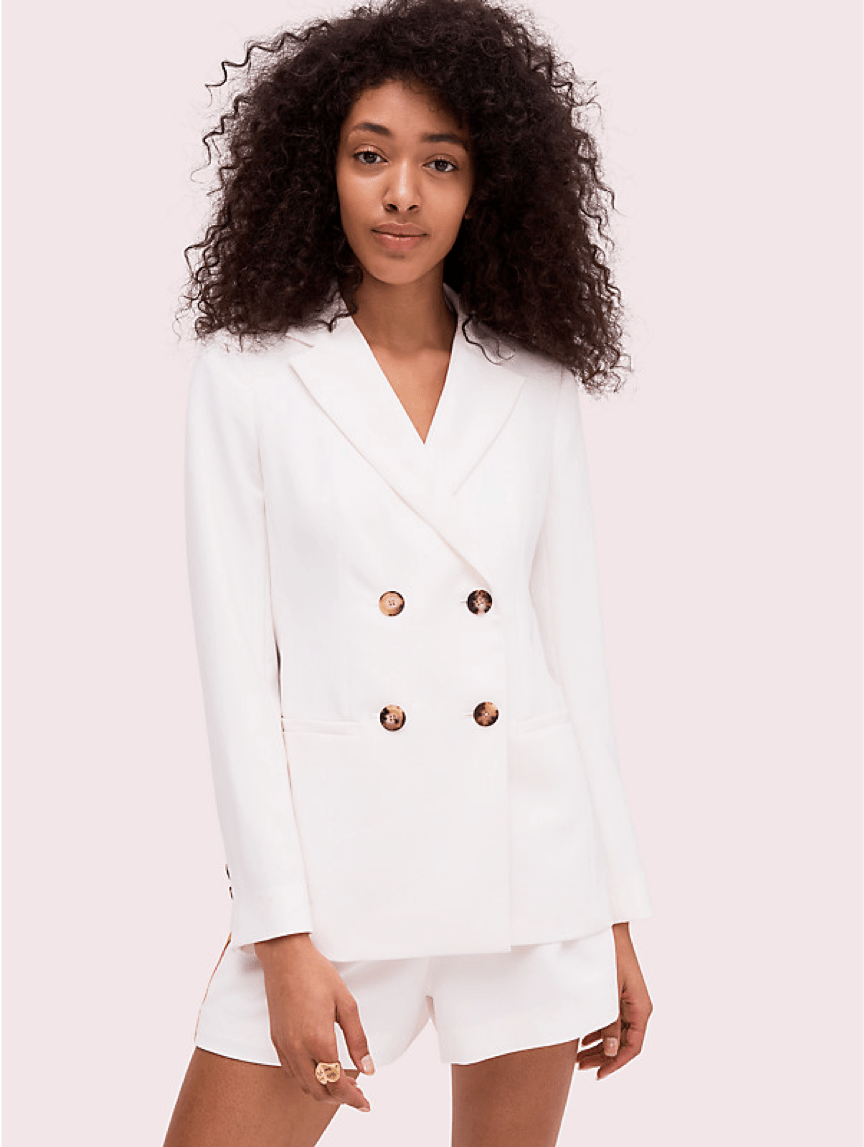 Kate Spade Fluid suiting blazer GB£395 (~HK$3,834)