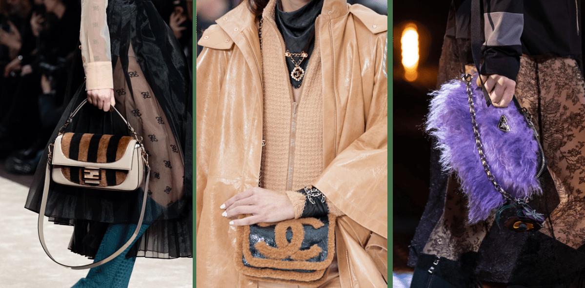 △ 左至右 : Fendi, Chanel, Prada © Armando Grillo