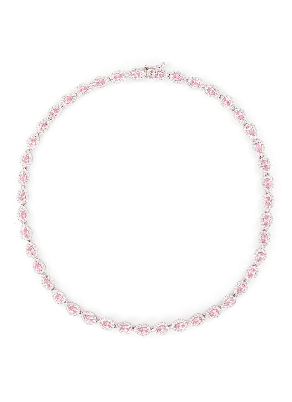 CZ By Kenneth Jay Lane Cubic Zirconia Link Necklace HKD$3,390