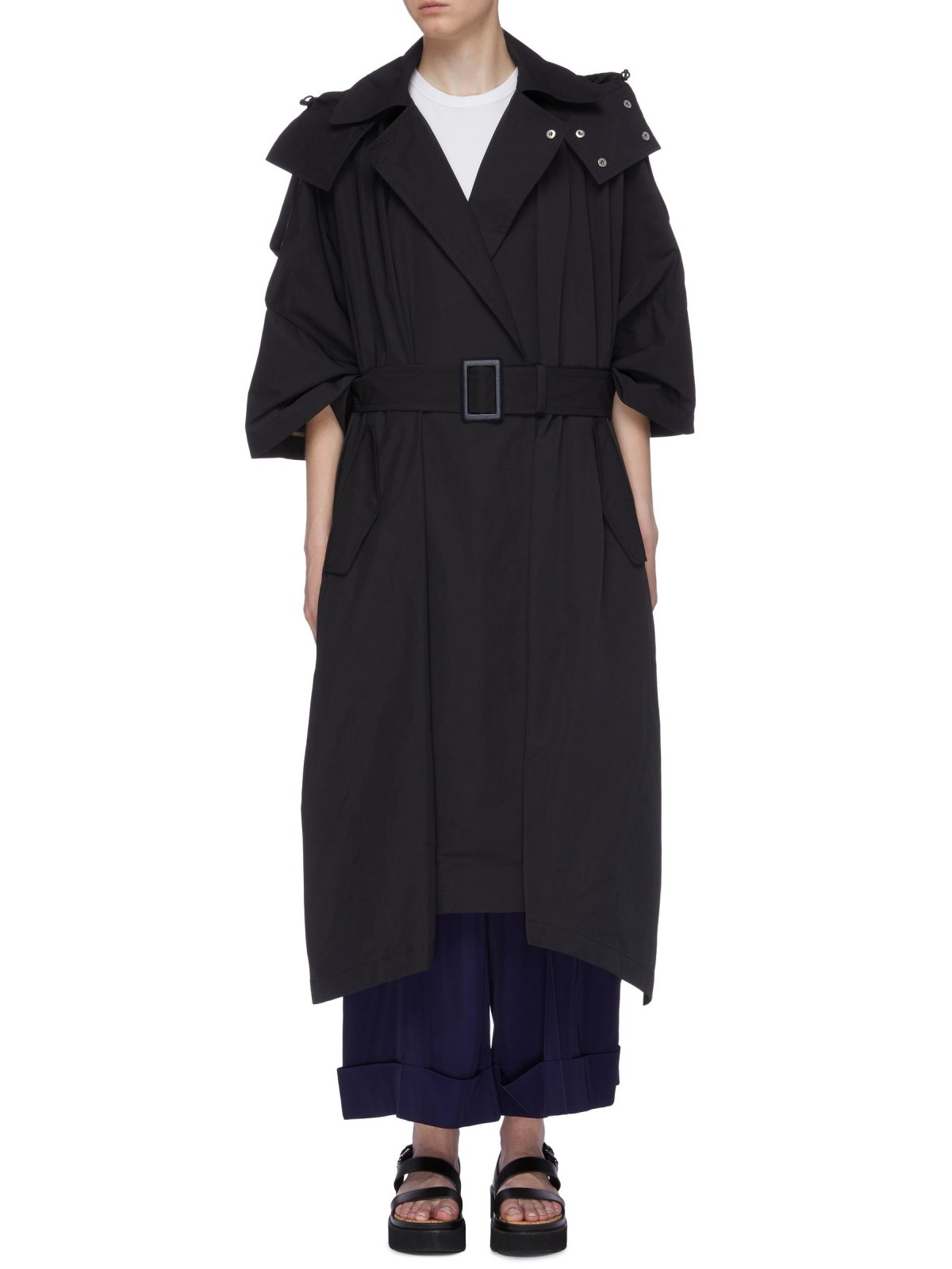 Toga Archives Belted Hooded Trench Coat HKD$8,400