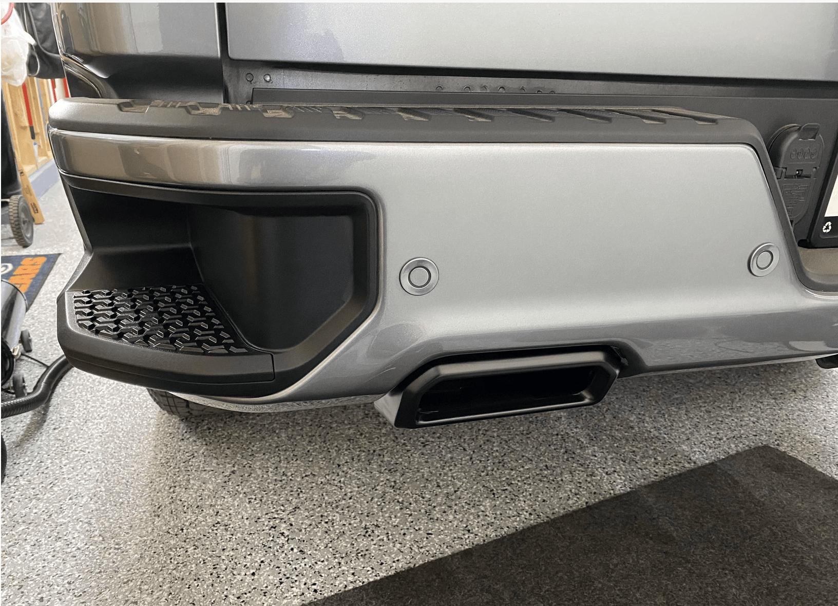 2019 2021 silverado sierra exhaust bezels official powder coating