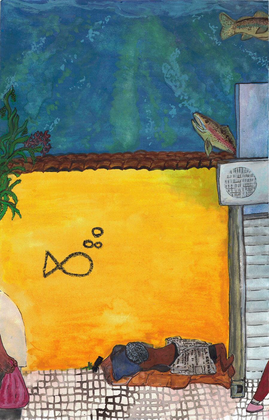 Ilustración de Ani Ventocilla King