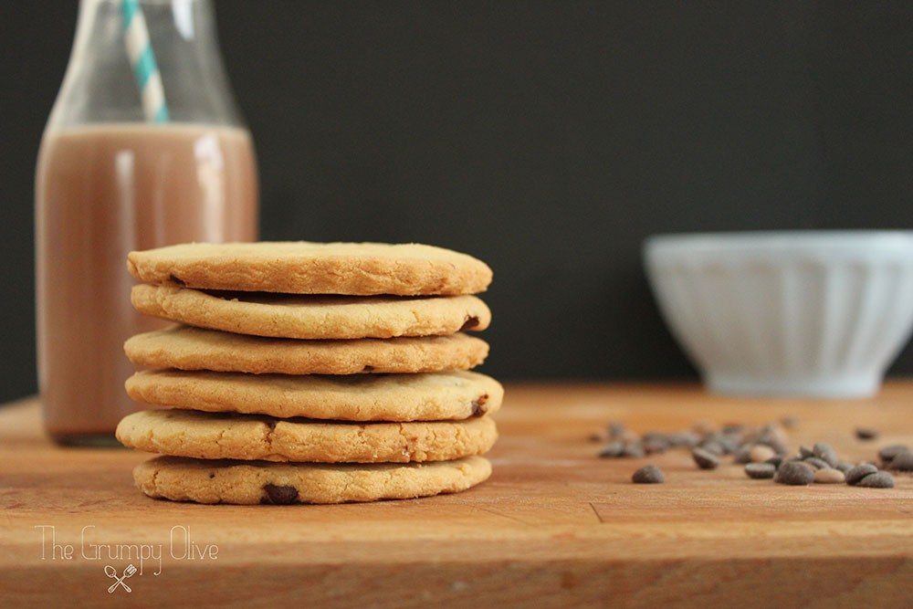 Sugar Cookies with Chocolate Chips