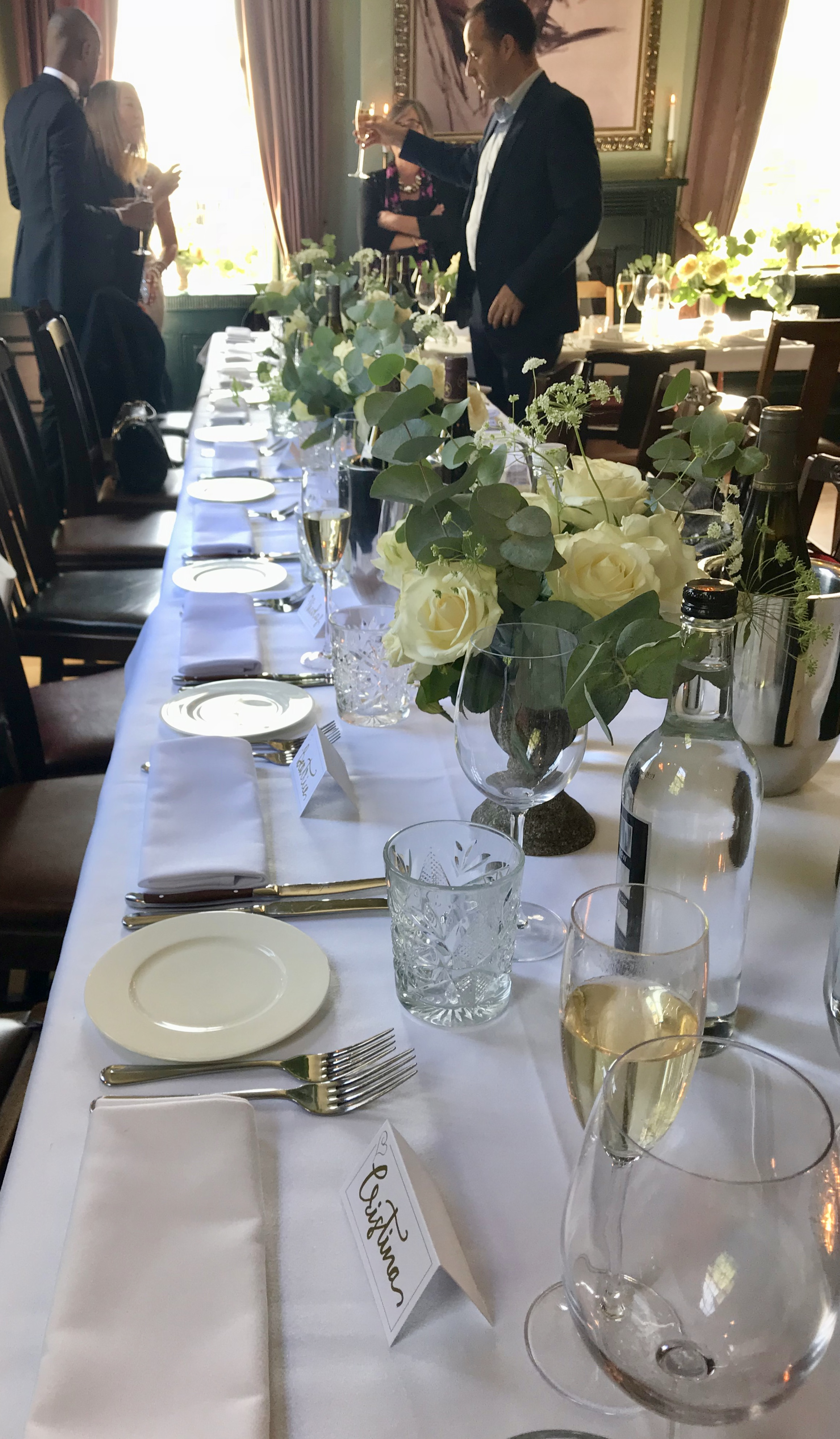 a wedding - table detail