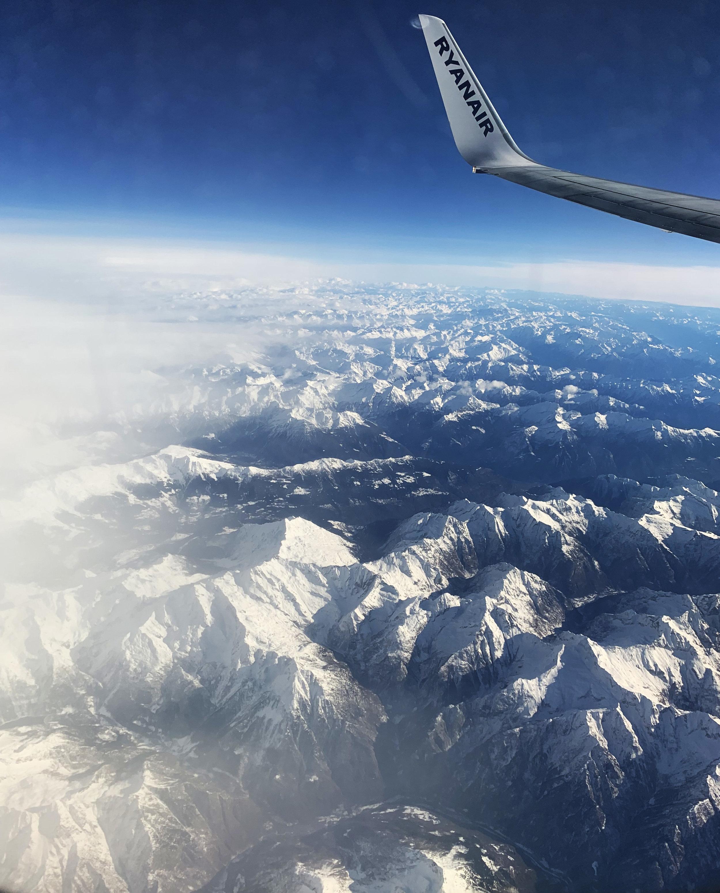 Flight to Rome