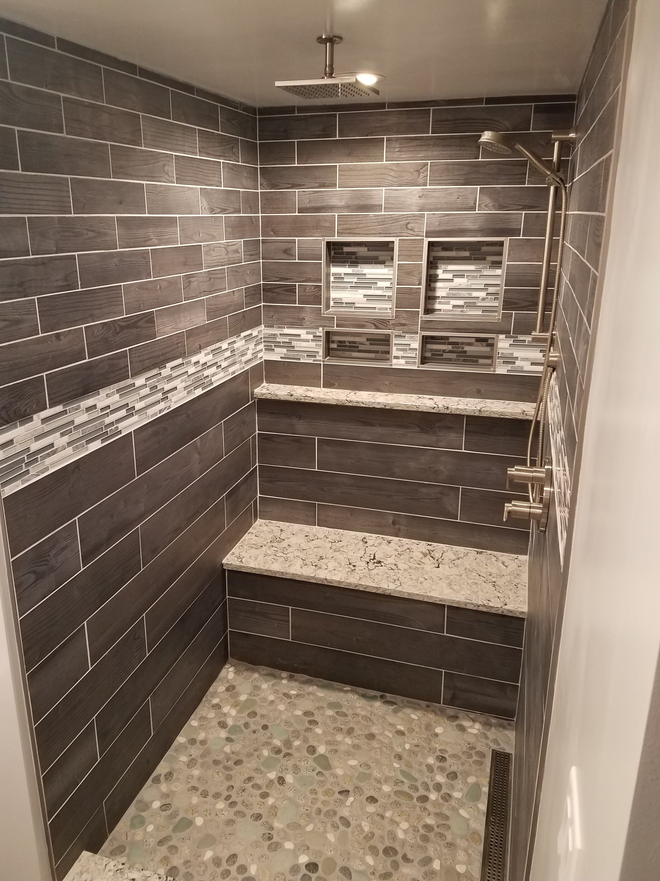 quartz shower bench collection