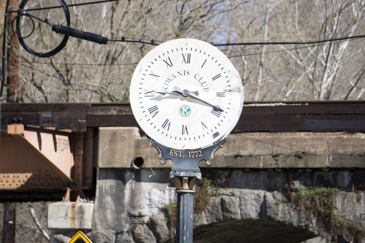 Ellicott City Clock, 3/8/2017