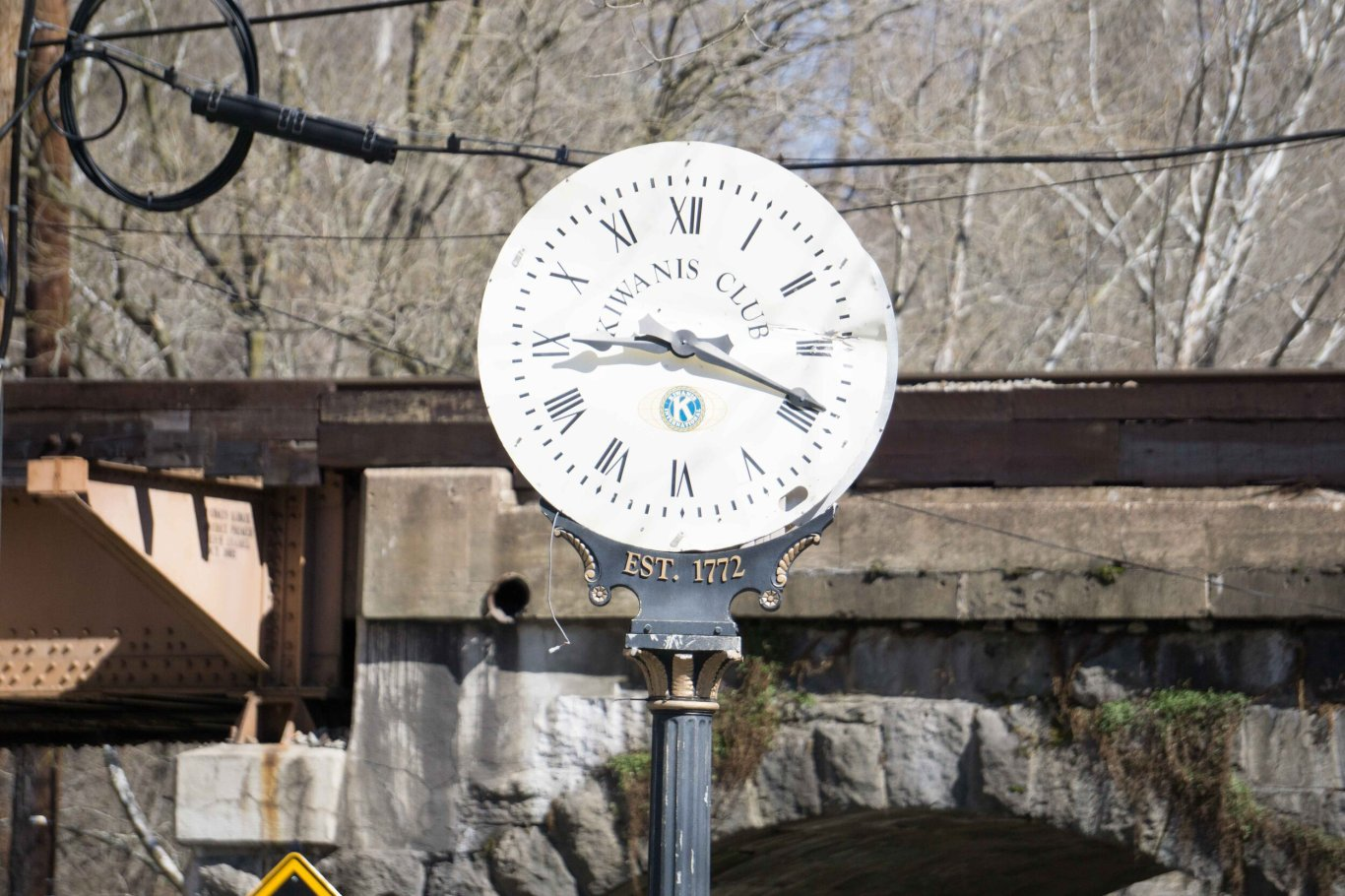 Ellicott City Clock, 3/8/2017