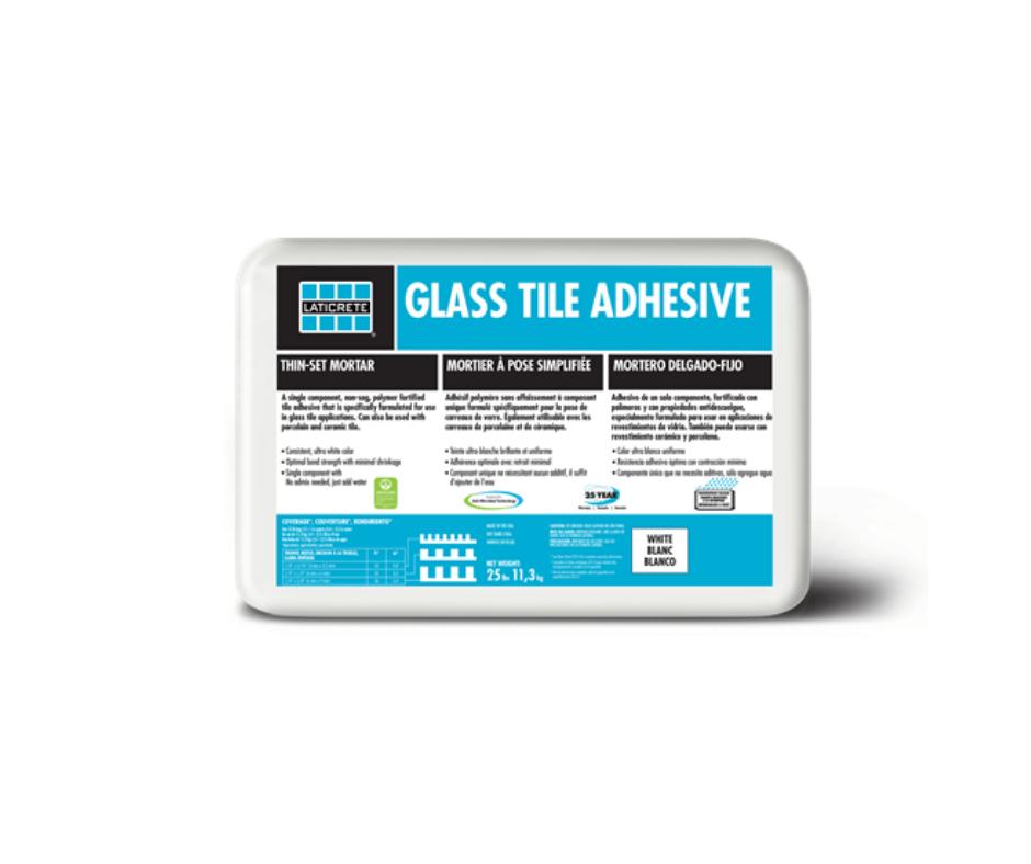 laticrete glass tile adhesive 21st