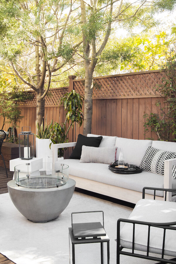 how to design the most inviting outdoor living space eggshell home san francisco bay area interior designer