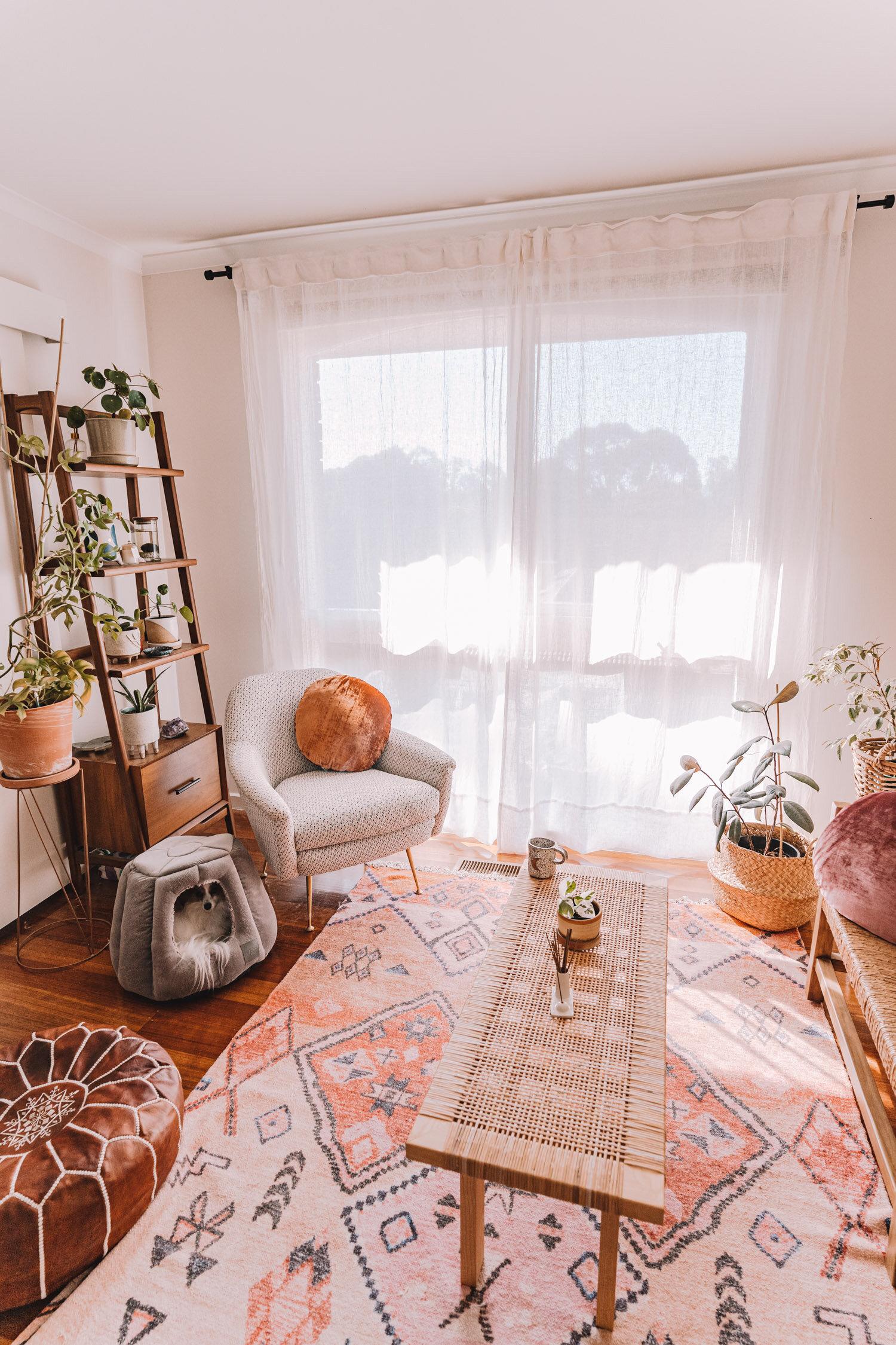 hang sheer linen curtains at home diy