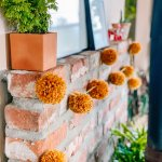 How To Make A Pom Garland The Green Mad House