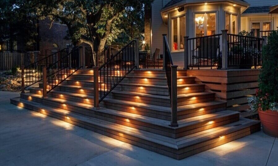 lighting rosewood fence and deck ltd