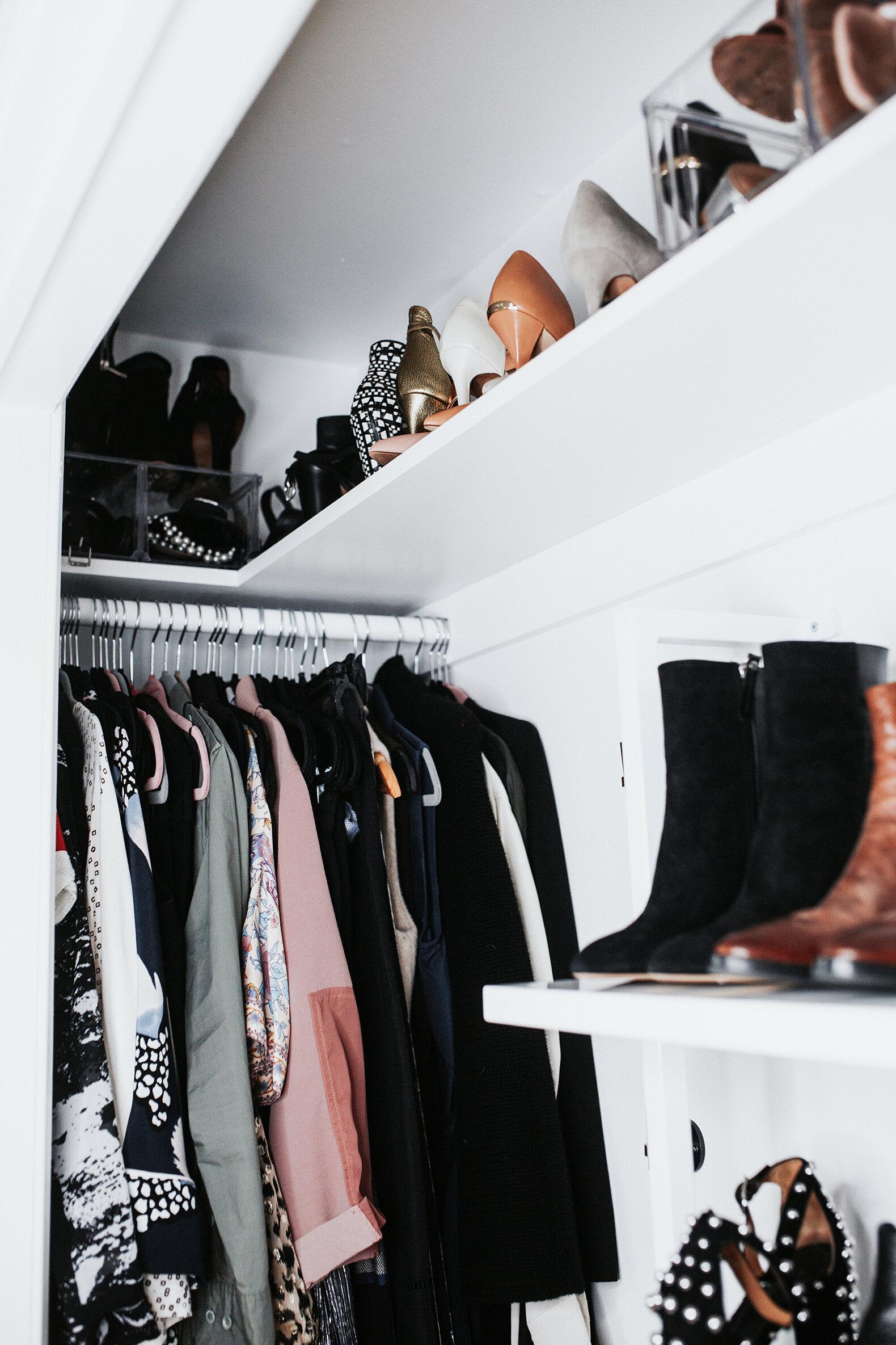 small reach-in closet renovation - meg biram