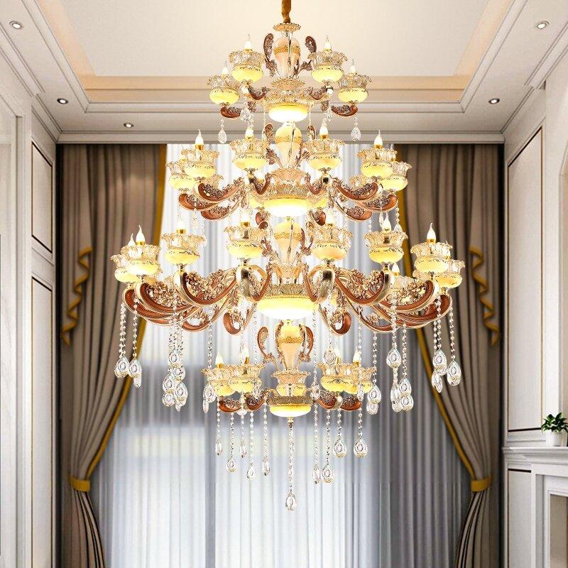 chandeliers with classic european luxury eleglam