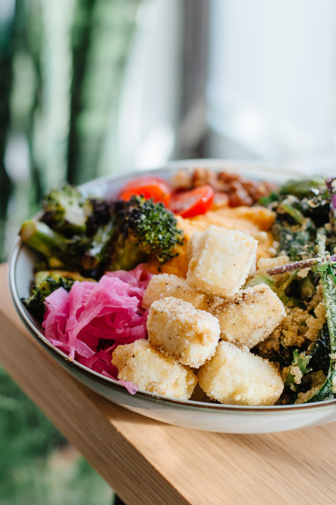 Grounds & Greens Cafe   A white rock vegan restaurant specializing in elevated plant based cuisine and beverages