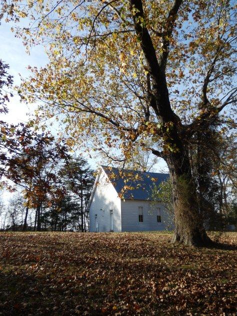 Log Creek Chapel, near Stendal, IN