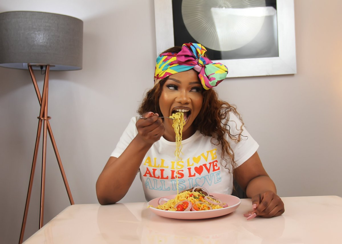 tacha eating so precious noodles.JPG