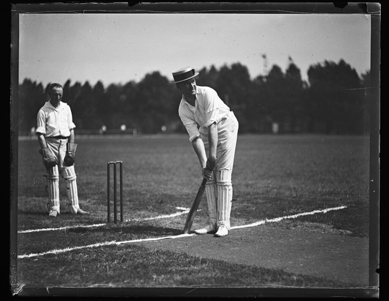 Image from the Library of Congress. Click on the image to learn more.  - 1978, in particular November 28, 1978, offers an example of the intersection of money, broadcasting, and interest in the sport.Kerry Packer, the media tycoon and owner ofChannel Ninewanted to create his version of a cricket league calledWorld Series Cricket, exclusive to his TV station. Thebest players from around the worldcompeted in a shorter version of the game than thetraditional five-day versionwith untraditional elements such as underfloodlightswithcolored jerseysand awhite ballintertwined into the new format.Colin Croft, formerWest Indies fast bowler, known as theSmiling Assassin, documented his experiences in an essay,Forged Under Pressure. Unlike theEuropean Super League, where clubs, not players, are determining action, in 1978,Kerry Packernegotiated directly with the players and not their cricket boards. Theopportunity costto secure a better form of income came at the expense of playing for theirrespective national teams. Mr. Croft ultimately signed to play for the World Series Cricket since the pay was