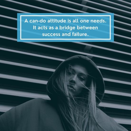 Attitude Images – A can-do attitude is all one needs It acts as a bridge between success and failure