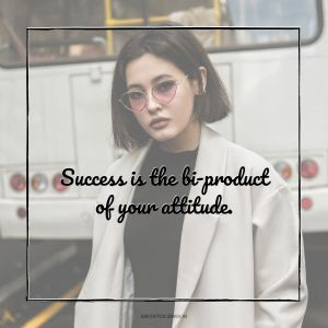Attitude Images Success is the bi product of your attitude full HD free download.