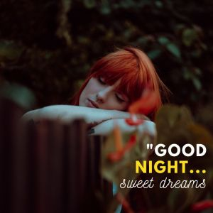 Cute girl Good Night Image full HD free download.