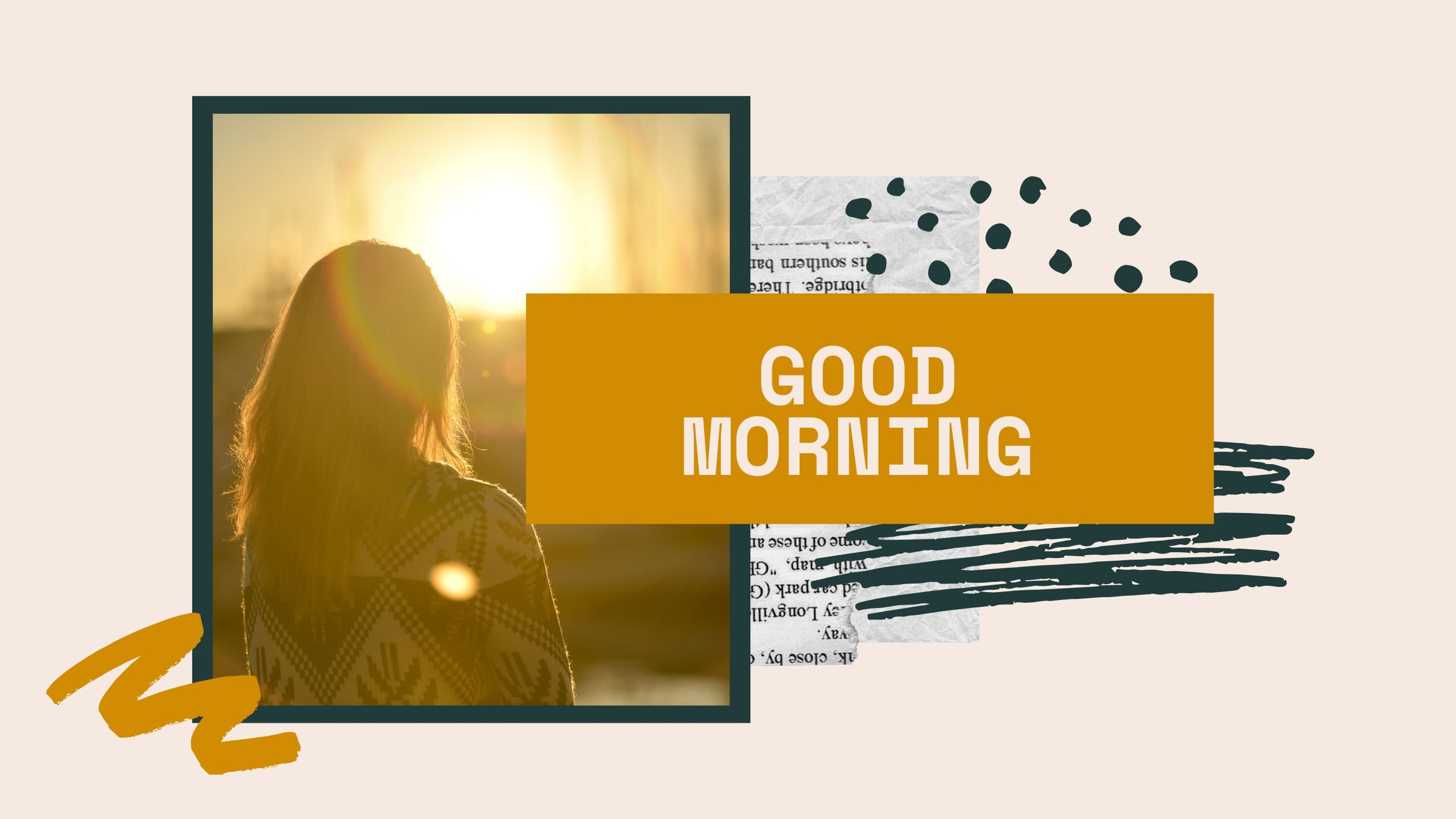 Good Morning Image with sun rising full HD free download.