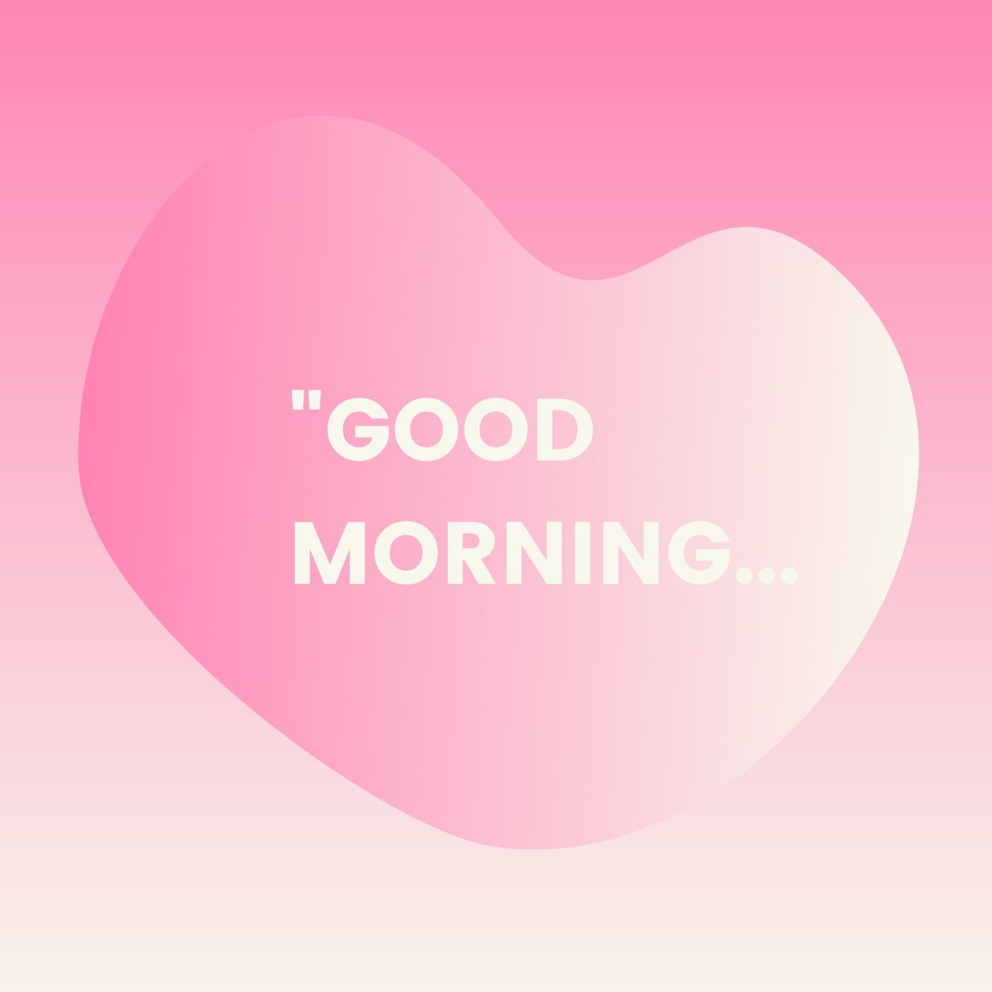 Good Morning Picture Love Heart Symbol full HD free download.