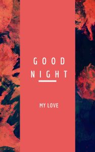 Good Night My Love Image hd full HD free download.