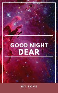 Good Night My Love Photo full HD free download.
