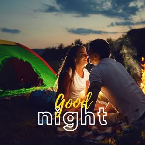 Good Night Romantic Couple Pic full HD free download.