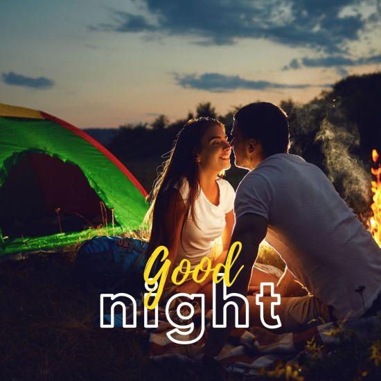 Good Night Romantic Couple Pic