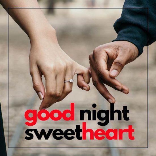 Good Night SweetHeart Image Couple