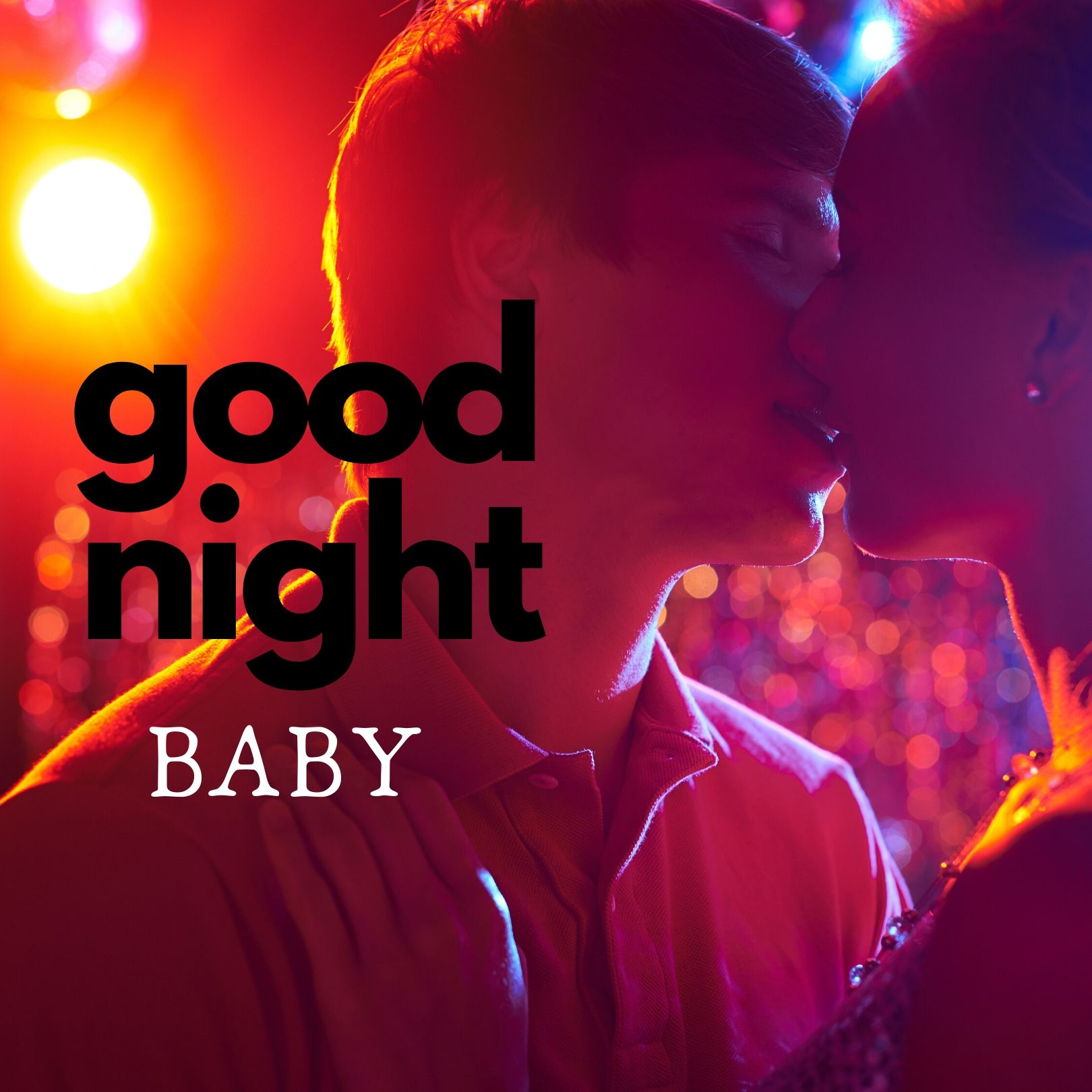 Good Night baby kiss picture full HD free download.