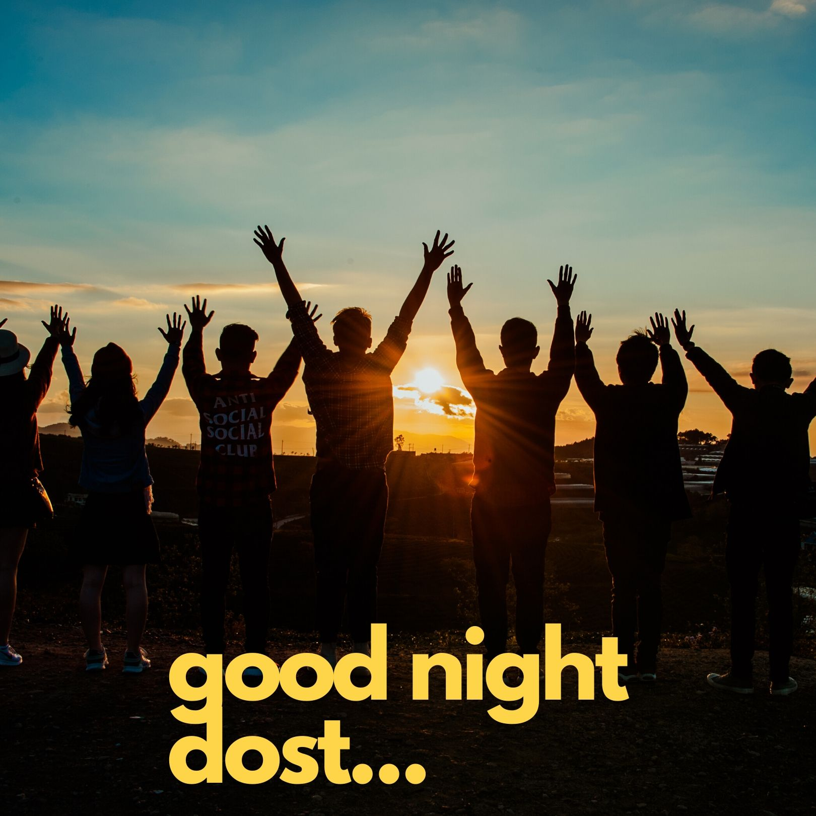 Good Night friends full HD free download.