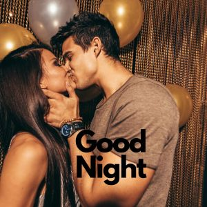 Good Night kiss photo full HD free download.