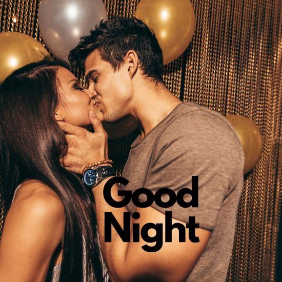 Good Night kiss photo