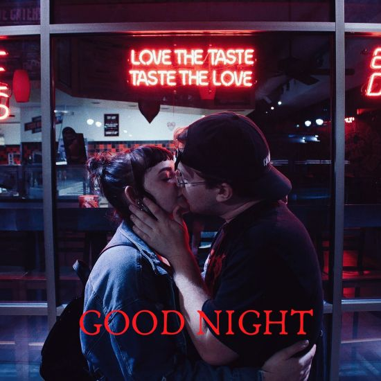 Good Night kiss photos