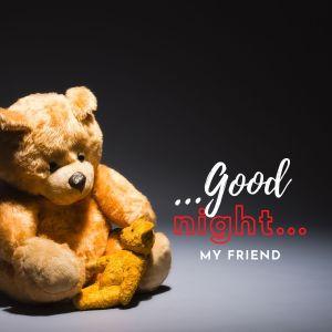 Good Night my friend image full HD free download.