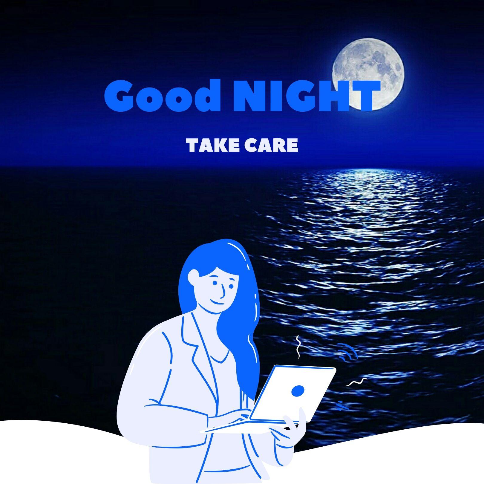 Good Night take care image full HD free download.