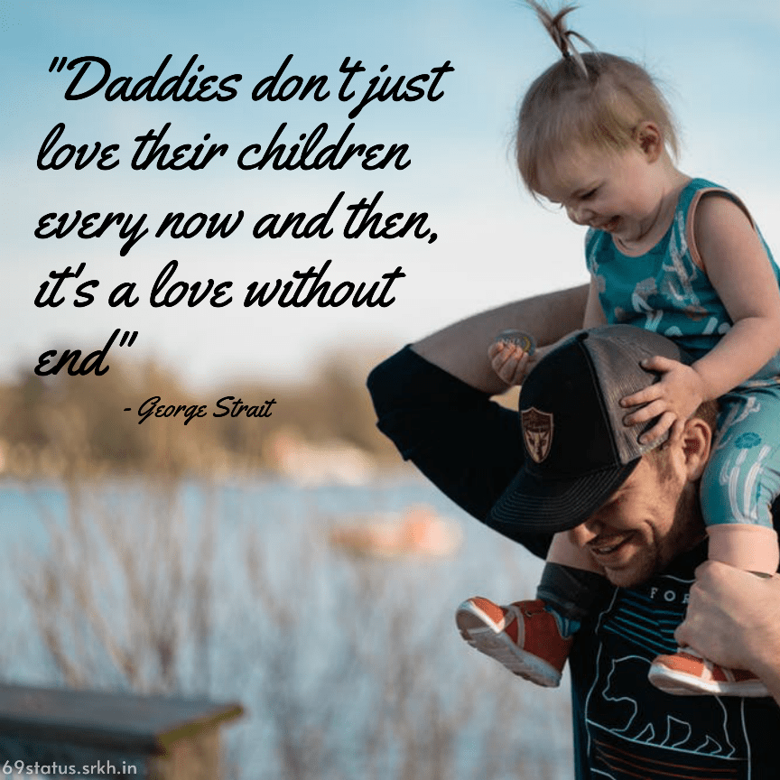 Happy Fathers Day Image with Quote full HD free download.