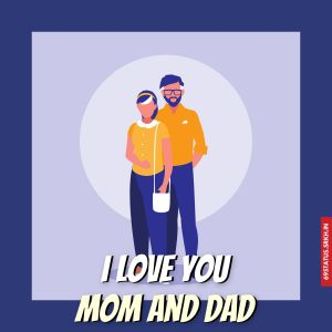 I Love You mom and dad images full HD free download.