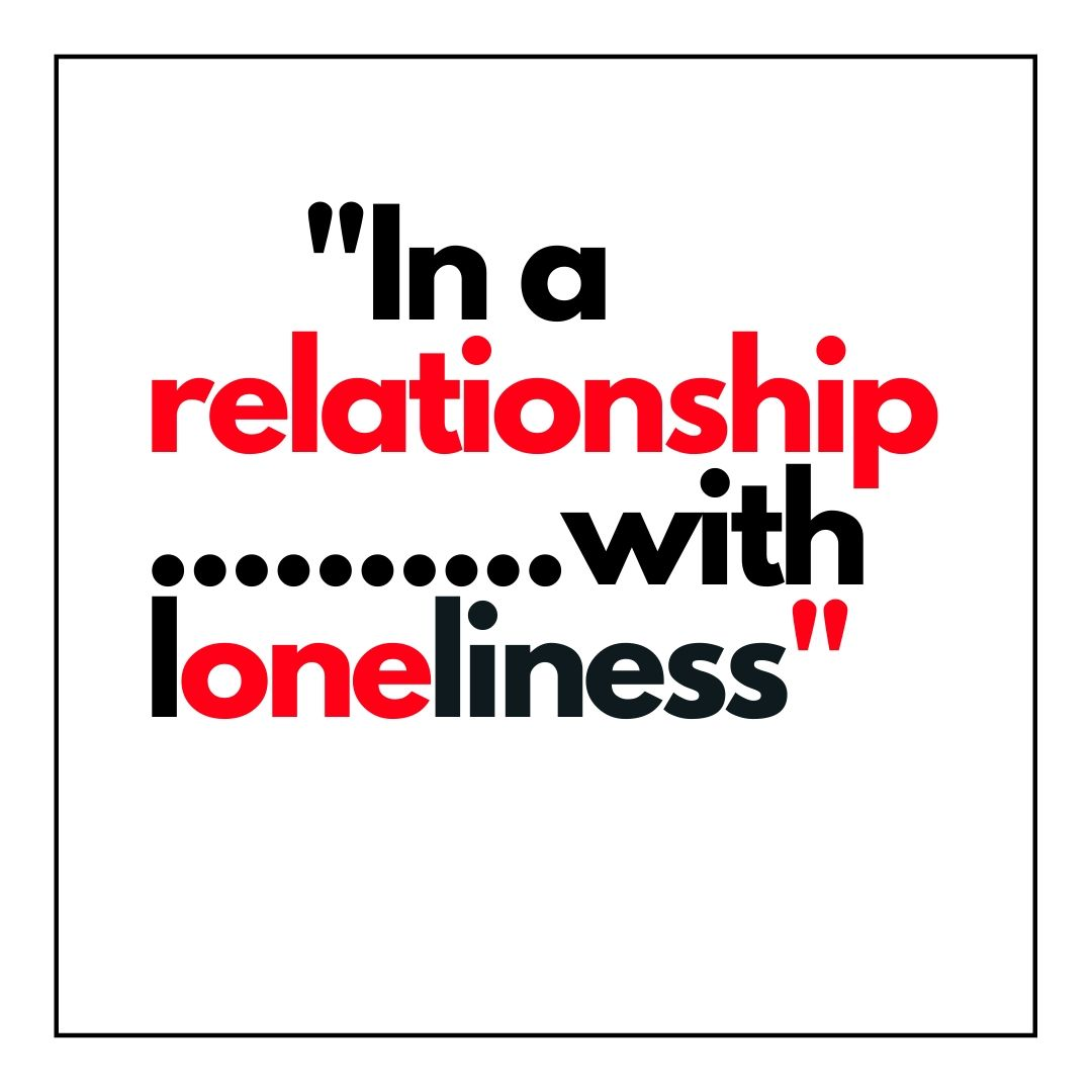 Ina a relationship with loneliness WhatsApp Dp full HD free download.