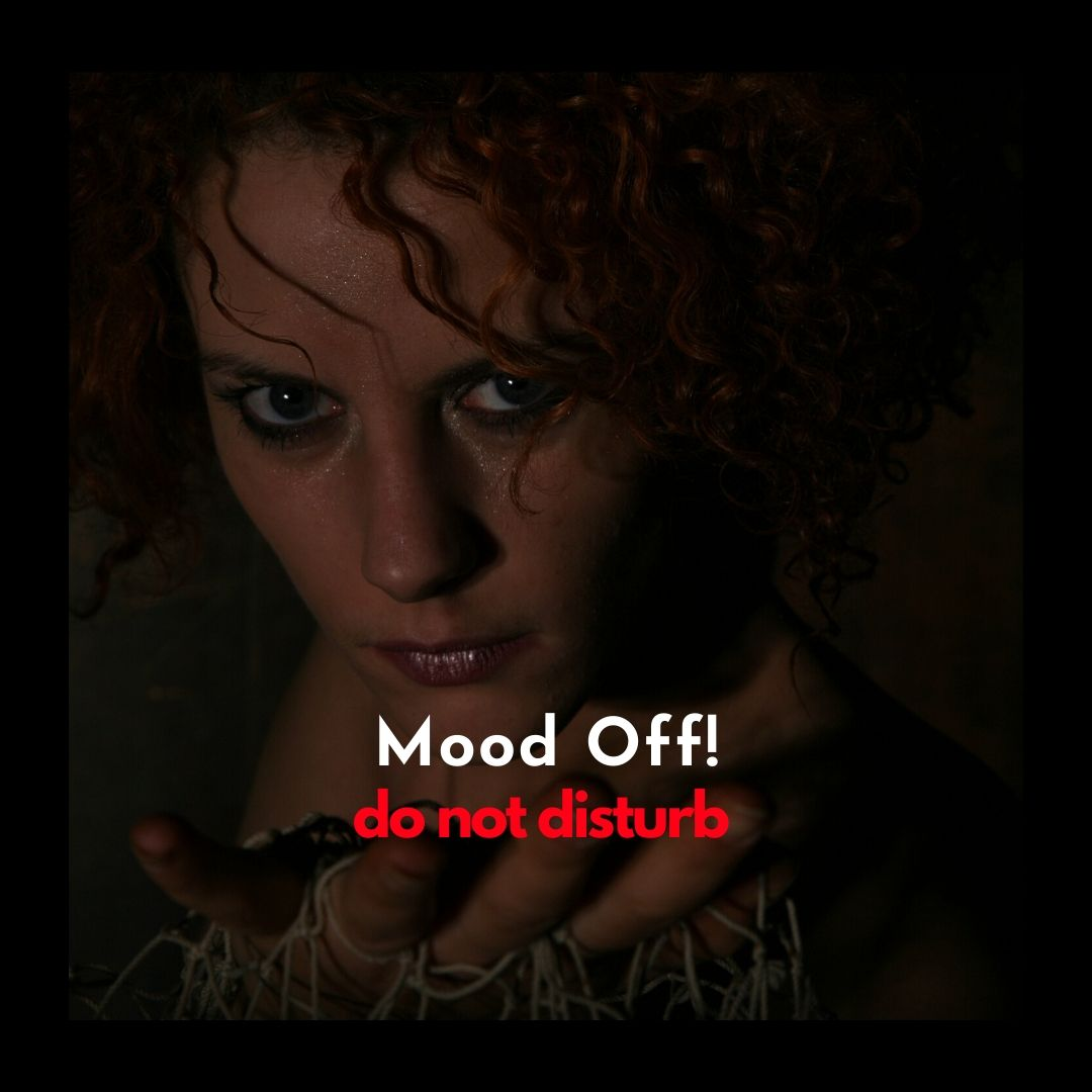 Mood Off WhatsApp Dp Image Don not disturb full HD free download.