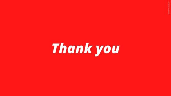 Professional Thank You Images for PPT Presentation HD