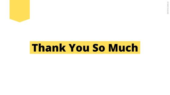 Professional Thank You Images for PPT Presentation