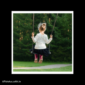 Sad Baby image hd Sad Little Girl Swinging full HD free download.