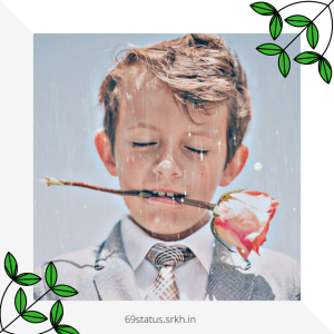 Sad Face photo Boy Crying in the Rain full HD free download.