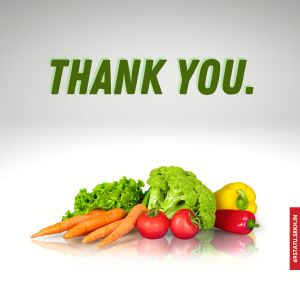 Thank You Images in Vegetables HD full HD free download.