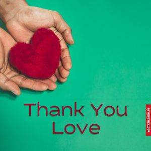 Thank You Love Images in FHD full HD free download.